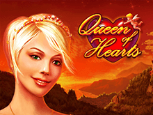 Онлайн автоматы Queen of Hearts